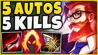 Download THE MOST BROKEN VIDEO I'VE EVER DONE (5 AUTO PENTA) NEW 100% CRIT ANIME GRAVES - League of Legends Mp3 and Videos