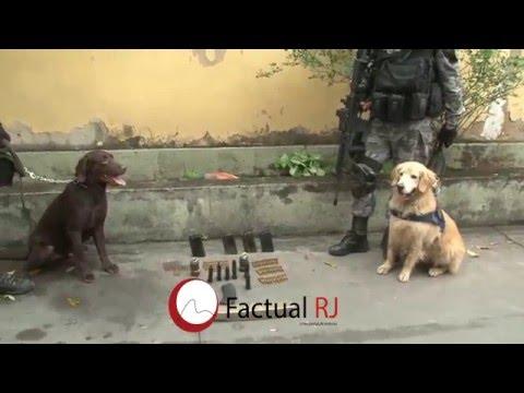 Operação na Vila Aliança com o Choque, Bope e Bac