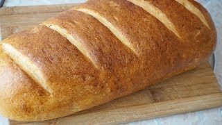 БАТОН НАРЕЗНОЙ домашний в духовке/White bread