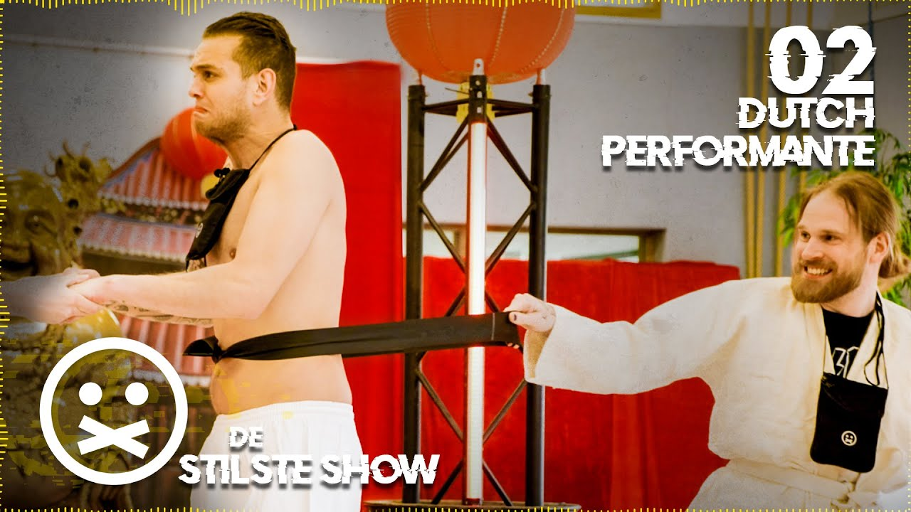 ZWARTE BAND INCASSEREN | De Stilste Show #2 met Dutch Performante