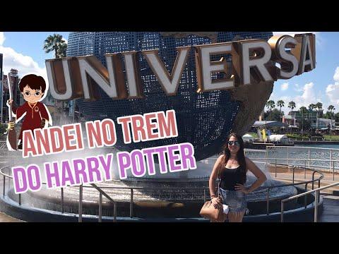 Andei no Trem do Harry Potter na Universal Studios - Fabi Trip 9 (VEDA17)