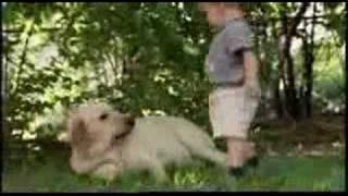 dog and his boy (mans best friend)