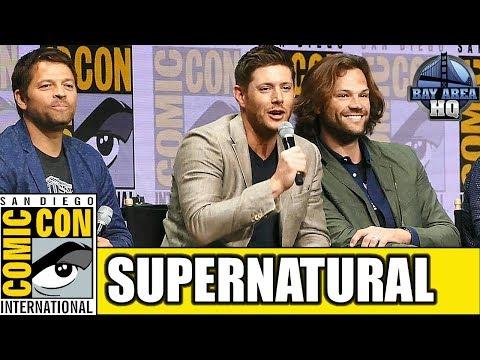 SUPERNATURAL Comic Con 2017 Full Panel Highlights Season 13 Reaction Interview