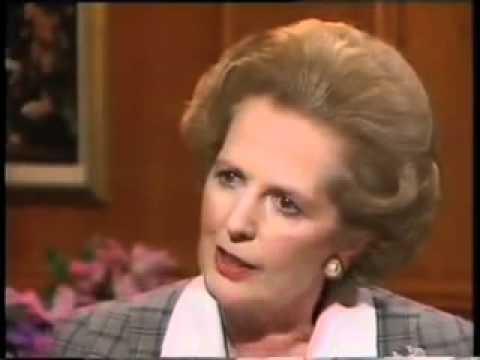 Margaret Thatcher BBC Panorama 1987 Pt 1