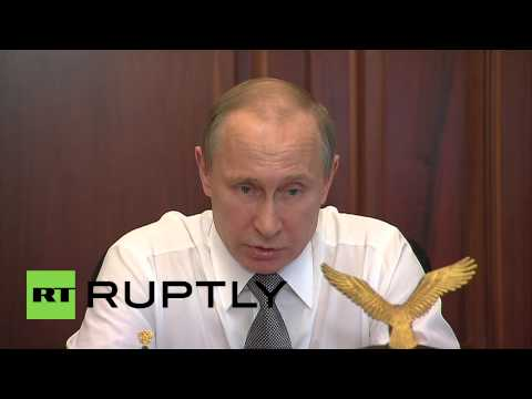 Russia: Putin says defence spending levels to be maintained