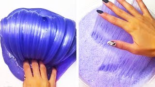 The Most Satisfying Slime ASMR Videos Relaxing Oddly Satisfying Slime 2019 125