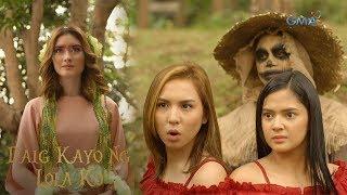 Daig Kayo Ng Lola Ko: Ella and Emma meet Diwata