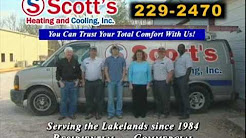 Greenwood, SC Heating Air Conditioning HVAC Contractor - Scotts Heating & Cooling