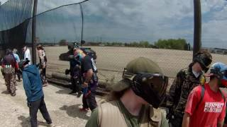 Paintball Explosion   Full Auto T15   Code Black/Mutiny Game play