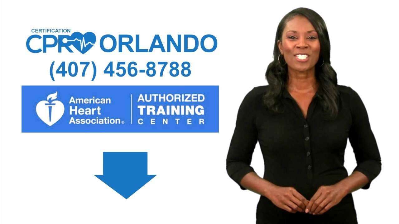 The Best Cpr Certification Classes In Orlando 407 456 8788 Youtube