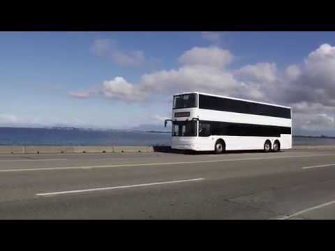 GreenPower EV550 All-Electric Double Decker Bus Video