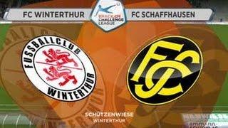 Fc Winterthur vs Fc Schaffhausen (21.05.17)