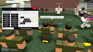 Exploiting at Fort Arthur ROBLOX