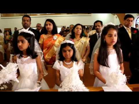 St. Mary's Syro Malabar Church, First Communion 2016 by solidactionstudio.com
