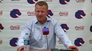 Bryan harsin's full weekly interview ...