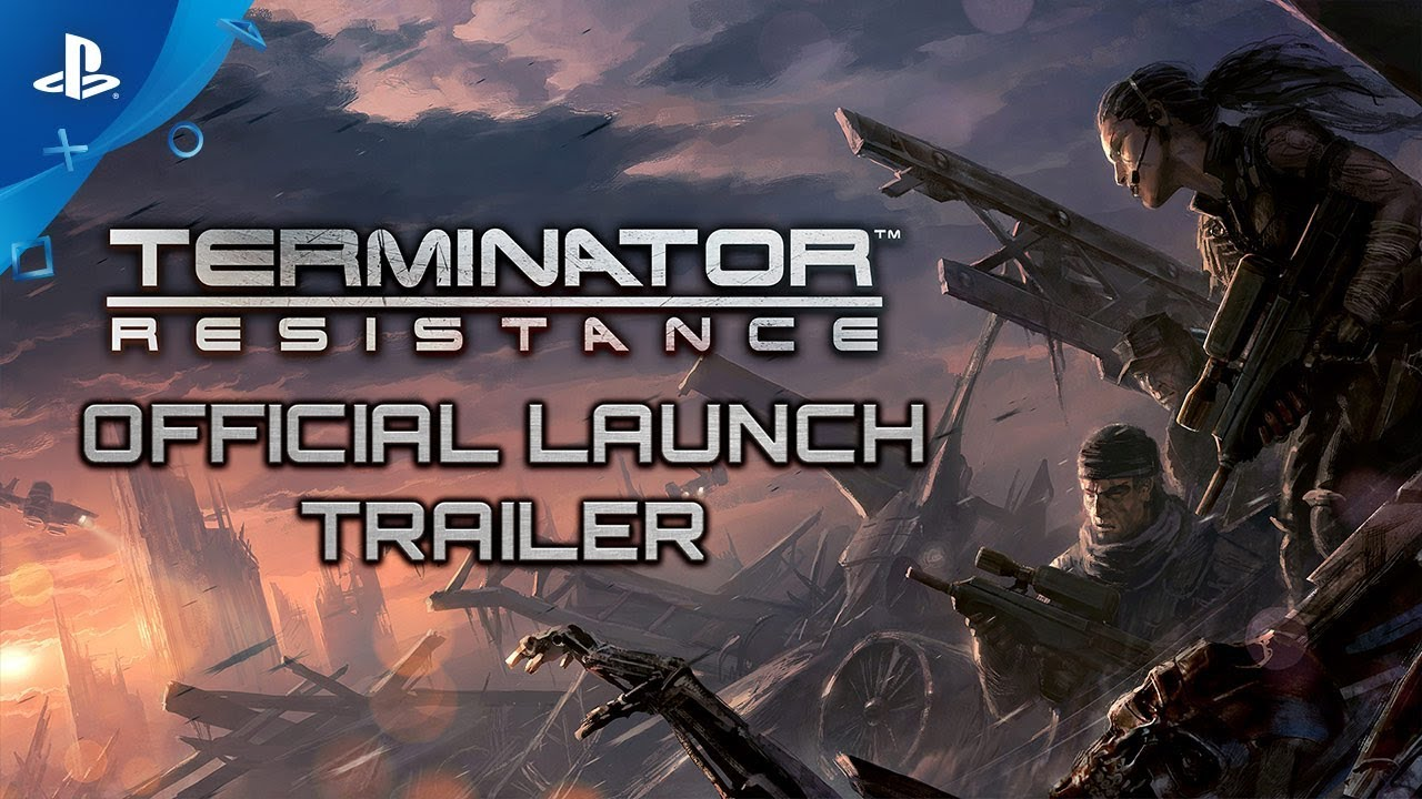 Terminator: Resistance - Launch Trailer | PS4