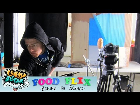 Food Flix Behind the Scenes - The Animation