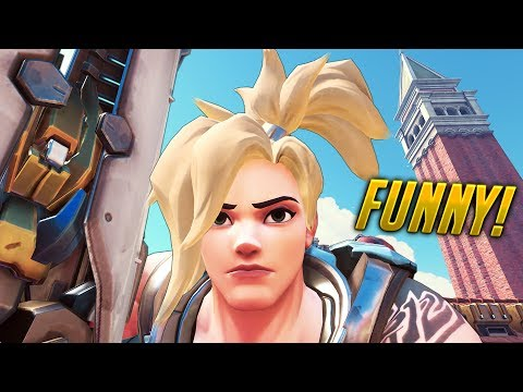 100 SUPER FUNNY Overwatch Moments