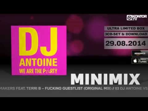 DJ Antoine - We Are The Party (Official Minimix HD)