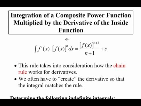 Integration of a Composite Function Multiplied by the ...
