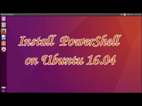 Install PowerShell in Ubuntu 16.04