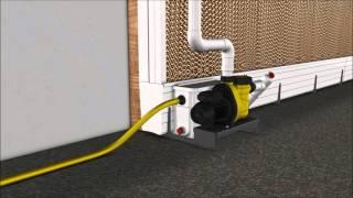 SKOV Pad cooling system
