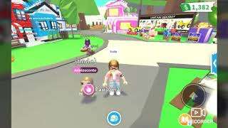 I first video of roblox (special 10 subscribers) #adop tell me if they want more roblox
