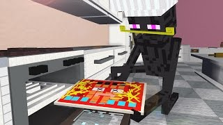 COOKING BATTLE SHOW ! Enderman - Craftronix Minecraft Animation