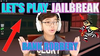 BREAKING OUT OF JAIL!!! LET'S PLAY JAILBREAK ON ROBLOX!!!