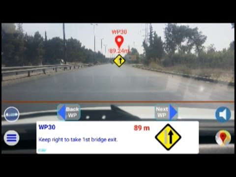 AR Driving Navigation
