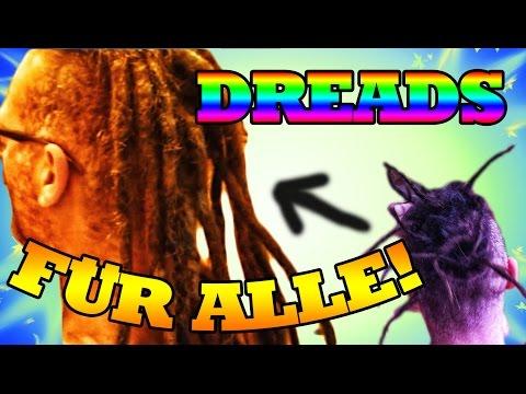 Dreads verlängern mit Echthaar ❀ Dreads selber machen ❀ Dreadlocks bei kurzen Haaren 💕 rohgan.de 💕