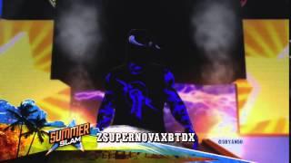 WWE2K15: zSuPeRNoVaxBTDx Entrance