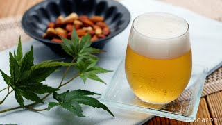 【ビールゼリー】父の日にもおすすめ♪りんごジュースで作れる簡単レシピ!