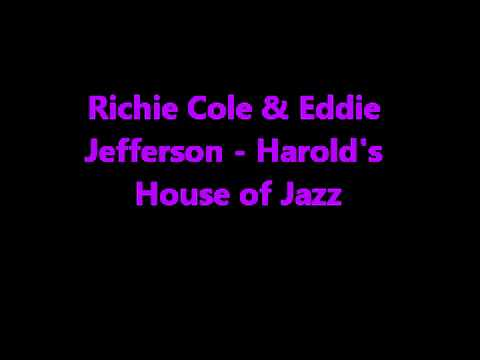 Richie Cole & Eddie Jefferson - Harold's House of Jazz