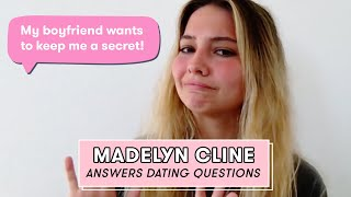 Outer Banks Star Madelyn Cline Gives Fans Dating Advice | Dating Questions