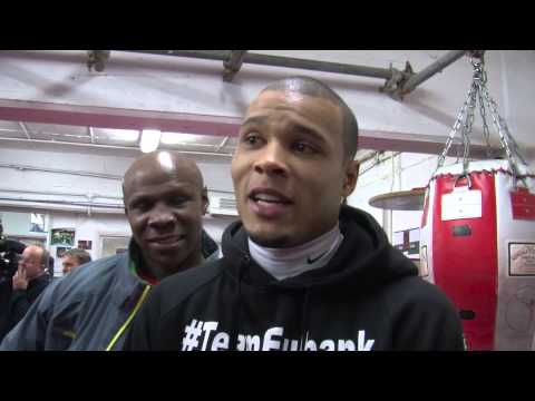 Chris Eubank Jr. & Sr Talk About Billy Joe Saunders Fight ...