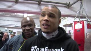 Chris Eubank Jr. & Sr Talk About Billy Joe Saunders Fight