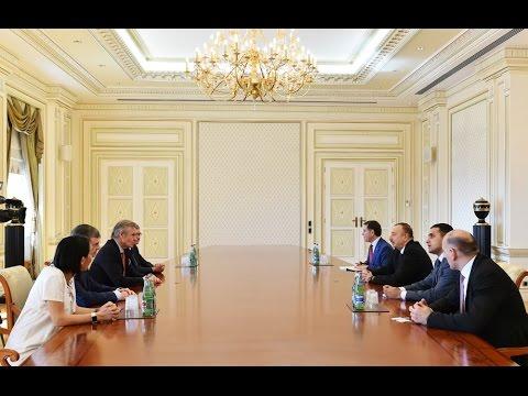 President Ilham Aliyev received delegation led by member of National Assembly of France
