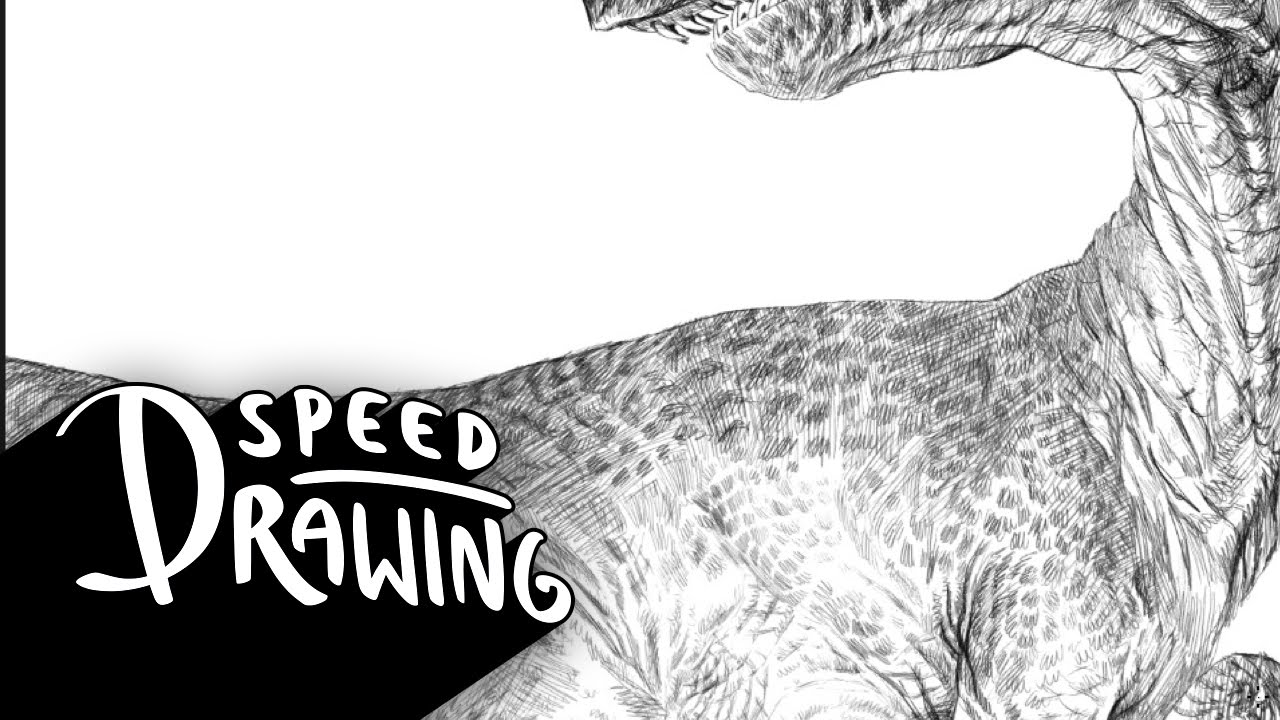 Speed Drawing: Jurassic World