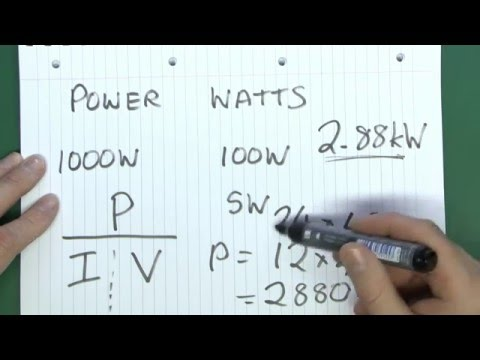 Voltage, Current, Resistance & Power