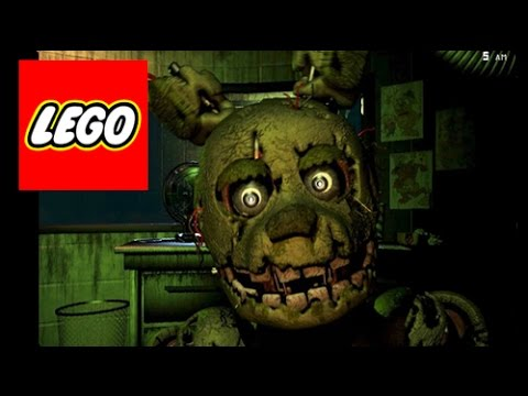 How To Build: LEGO (Five Nights at Freddy's 3) SpringTrap