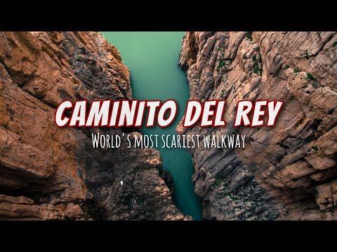 Caminito del Rey | Scariest walkway in Spain
