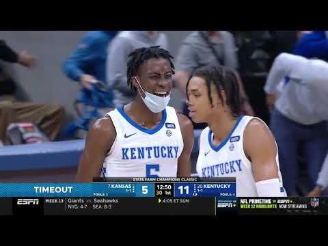 2020-2021 Kentucky vs Kansas (Champions Classic - Game 3)