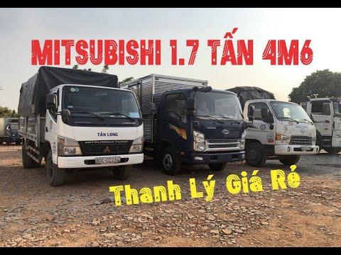 Bán Mitsubishi 1.7 Tấn Thùng Bạt 4m6 cũ đời 2011 – Xe Tải Cũ Thanh Lý Giá Rẻ