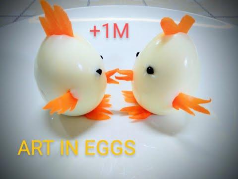 Egg Tricks | Food Arts | Creative Egg Food Idea