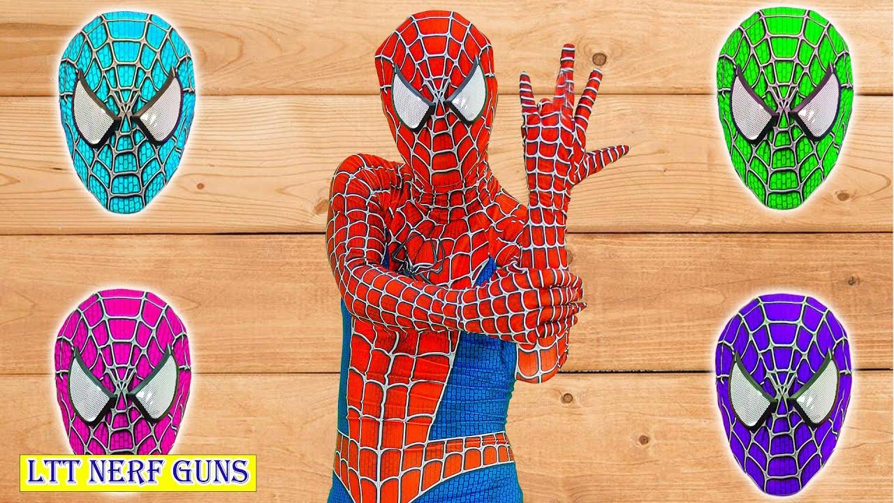 LTT Nerf Guns: Team Spiderman X-Shot Nerf Guns Fight Against Criminal Group Dance Cover 댄스 커버