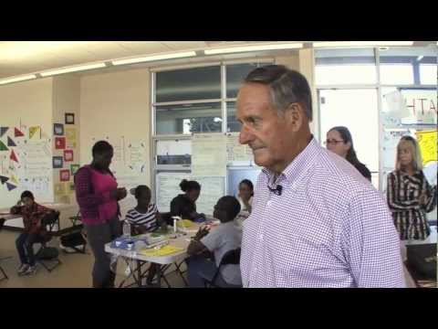 John A. Sobrato Visits Summer Learning Academy