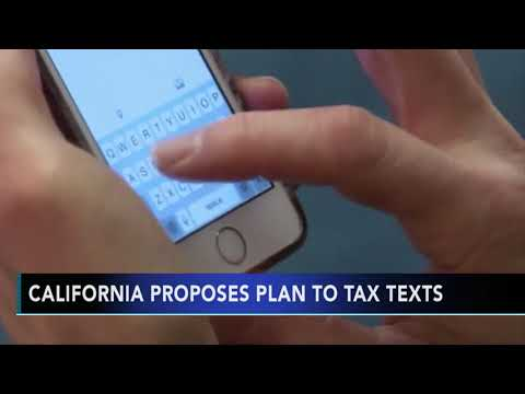 The Morning Breeze - California Is Seriously Considering A Tax On Text Messages!