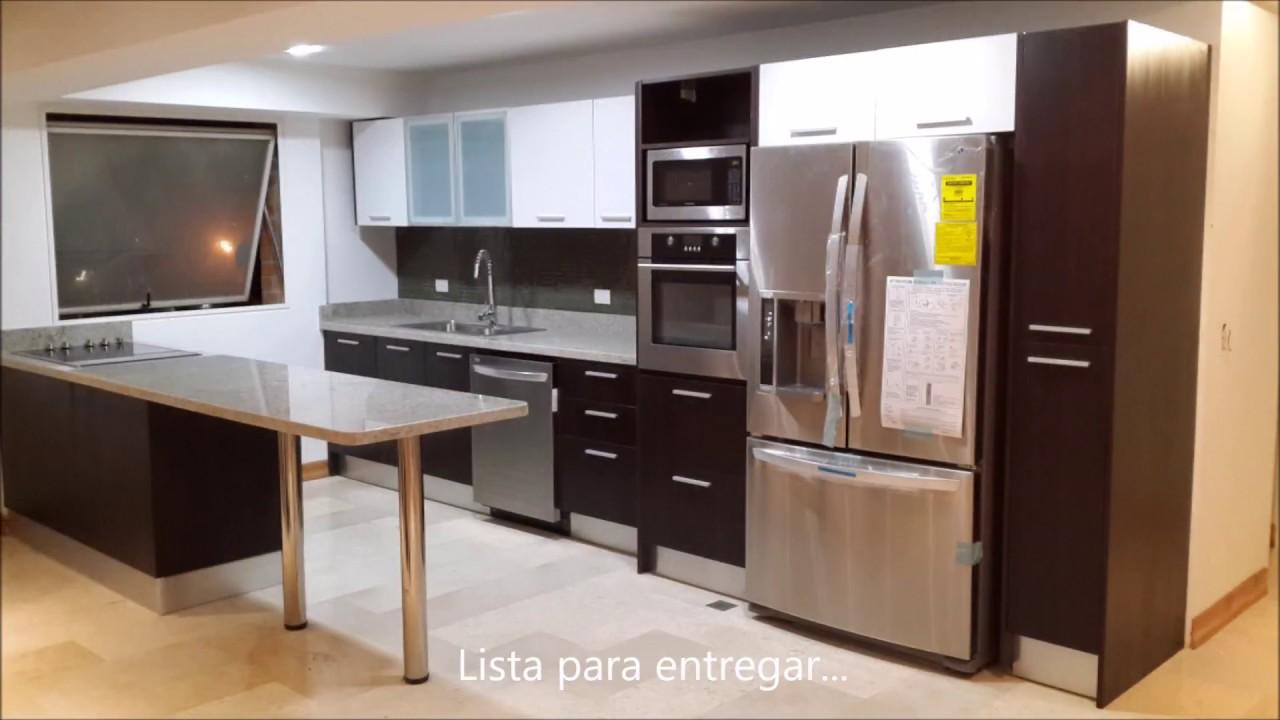 Instalación de cocina modul - Carpintería Inteligente - YouTube