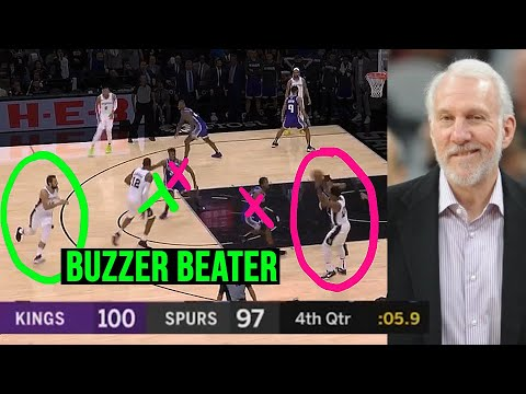 THIS Is Why GREGG POPOVICH Is The G.O.A.T!  (7 GENIUS Plays By POP)
